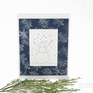 Card Making: Let it Snow Card