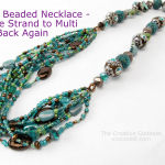 Boho Beaded Necklace – Video Tutorial