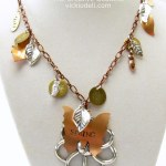 Thinking of Spring and a Mixed Metals Necklace
