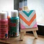 Fabulous Friday: 11 Mini Canvas Art Ideas