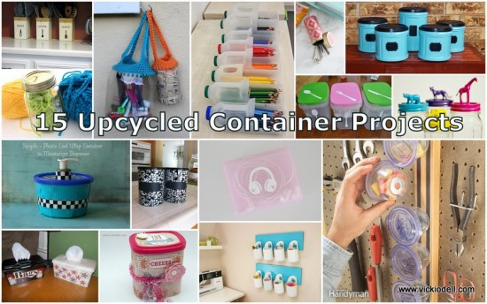 15 Upcycled Container Projects