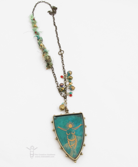 Talisman Necklace with Susan Lenart Kazmer and ICE Resin