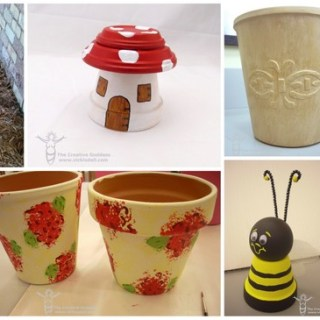 12 Clay Pot Crafts