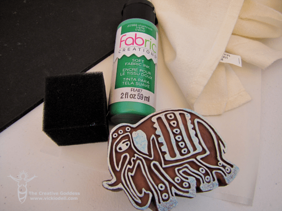Fabric Creations™ Block Printing Stamps and Soft Fabric Inks