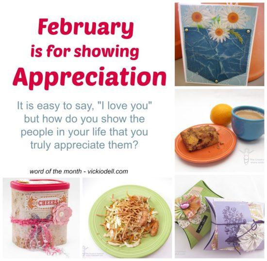 how do you show appreciation