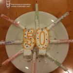 50th Birthday, Goal List, Plus Great News