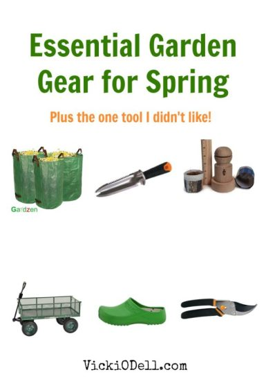 Essential Garden Gear for Spring