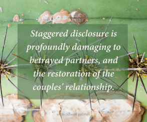 Staggered Disclosure