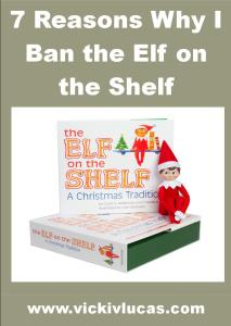 7 Reasons Why I have Banned the Elf on the Shelf