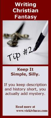 Writing Christian Fantasy Tip #2: Be Brief