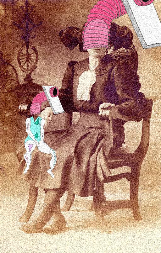 Victoria Lewis, Found Image, Image Manipulation