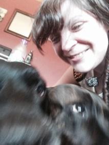 selfie of me, Tess & Coal