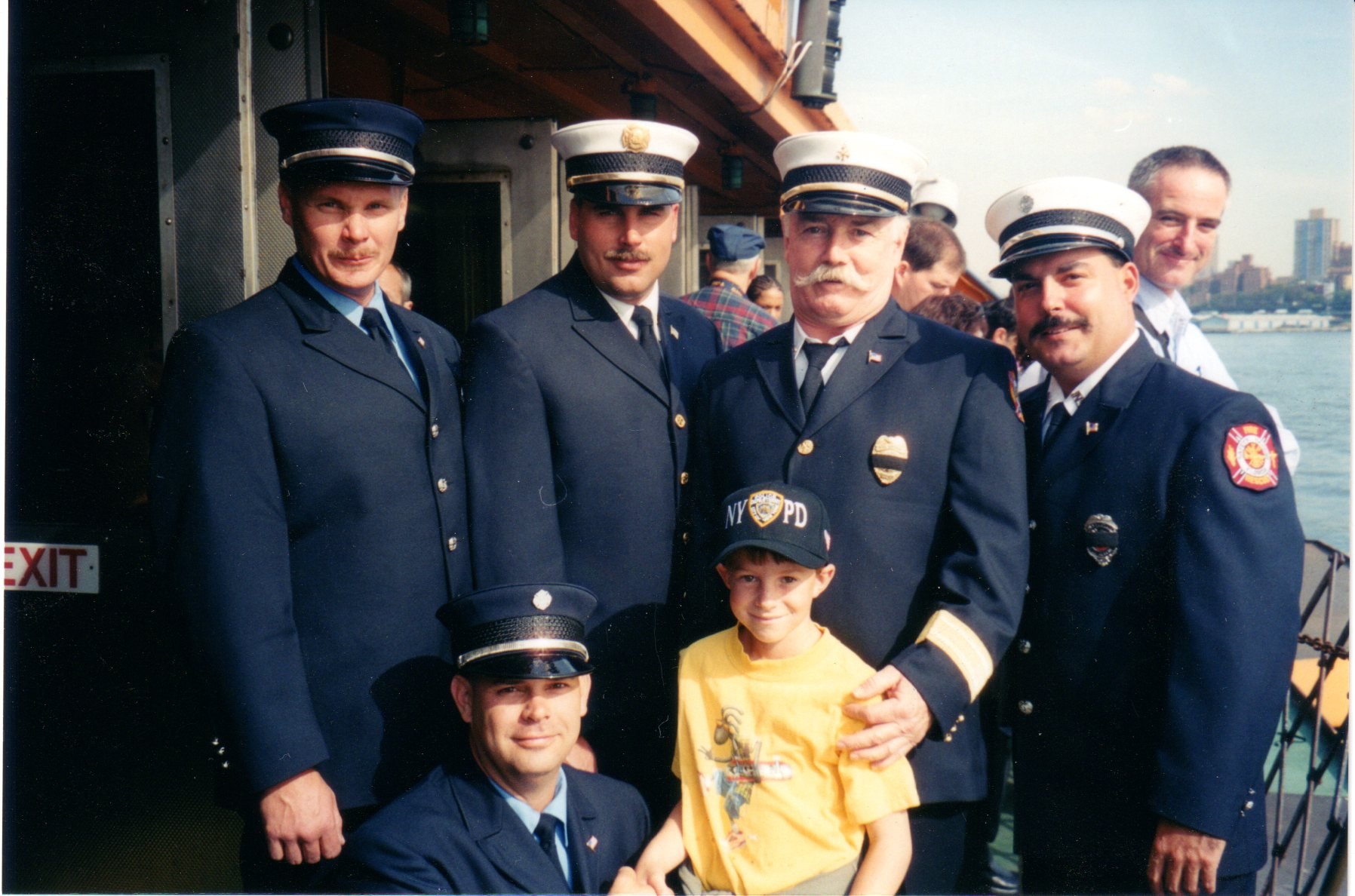 Kyle and the 9/11 Firefighters