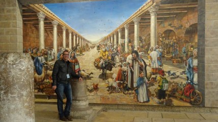 What the Roman streets might have looked like