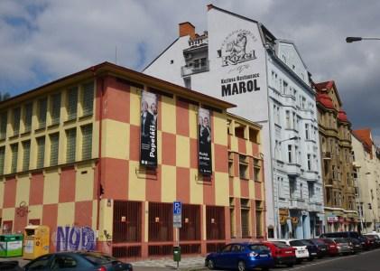 Fibichova, family house on end right