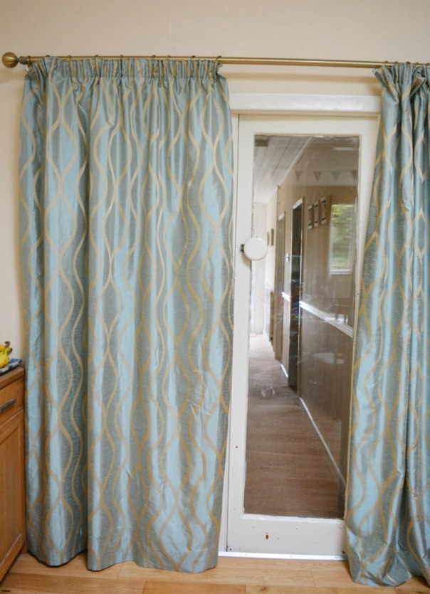 Correct length curtains