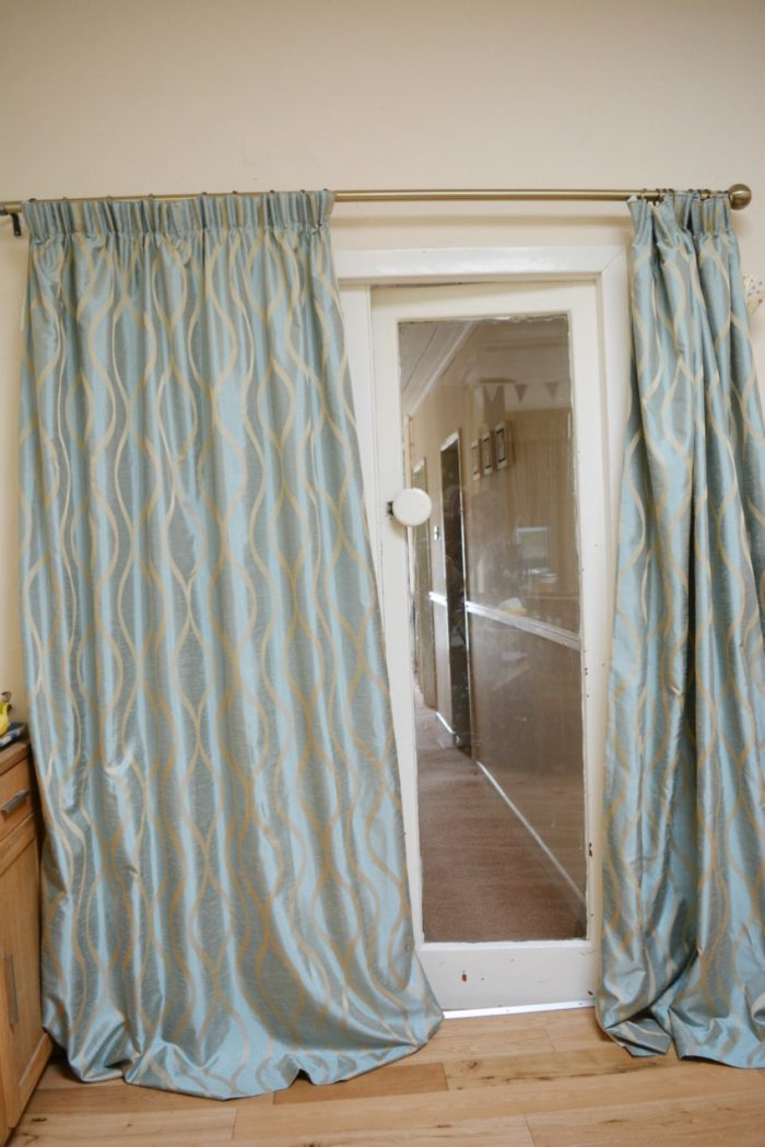 Curtains too long for Curtain making service
