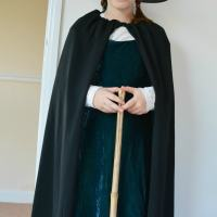 Worst Witch Costume DIY Cape