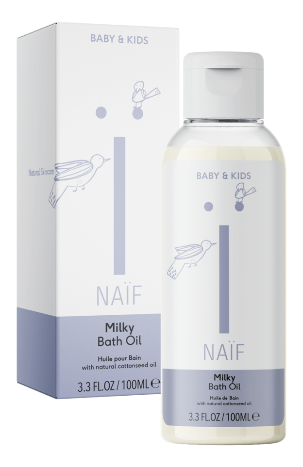 Naïf Milky Bath Oil