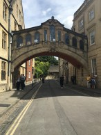 Oxford: Hertford Bridge or better known as Bridge of Sighs