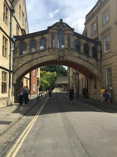 Oxford: Hertford Bridge or better known as Bridge of Sighs