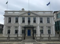 The Mansion House, the official residence of the Lord of Mayor of Dublin