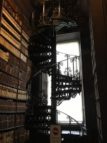 The staircase up to the gallery of the Library