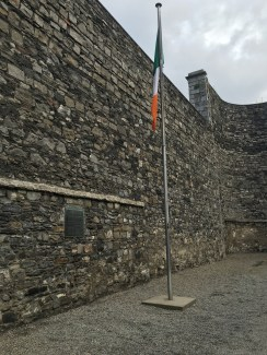 Dublin: The Irish flag in the Stonebreakers' Yard