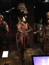 One of the costumes of The Lion King Musical