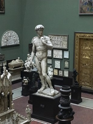 It's a plaster cast from around 1856