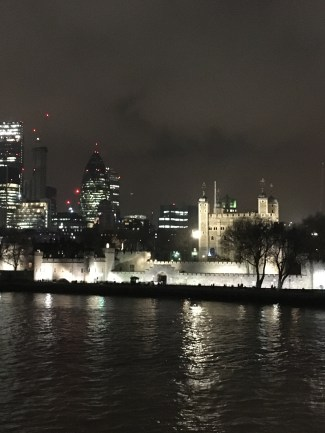 The Gherkin and the Tower of London