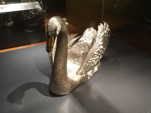 One of the main attractions in the Silver exhibition of the Whiteley Galleries
