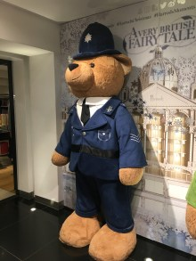 One of the Harrods bears