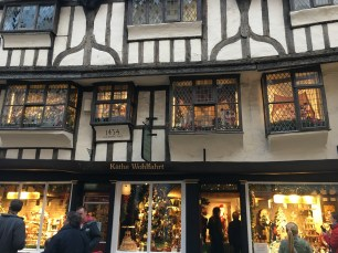 The Käthe Wohlfahrt shop in York