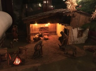 Our Christmas Crib made by my father's father