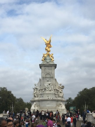 The Queen Victoria Memorial in front of Buckingham Palace