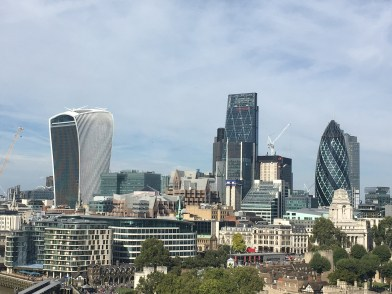 The Walkie Talke, Cheese Grater and the Gherkin