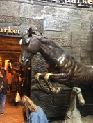 Horse Statue in Stables Market
