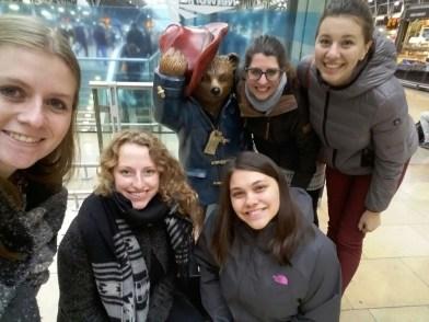 My crew: Marieke, Farina, Amelia, me and Kathi