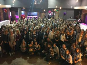 Group picture inside the venue - all rights belong to Smartaupairs