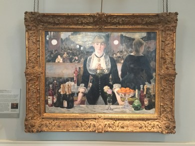 A BAR AT THE FOLIES BERGERE, 1881-82 by Édouard Manet