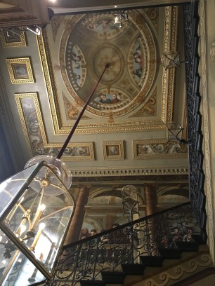The King's Staircase with its phenomenal painting on the ceiling