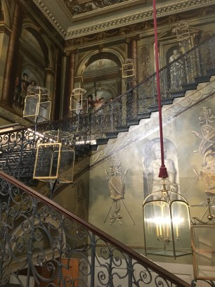 The Staircases look royal and posh