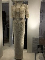 The 'Elvis Dress' from her official visit to Hong Kong in 1989, designed by Catherine Walker