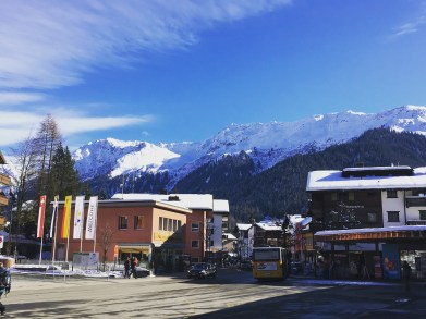 My first view of Klosters