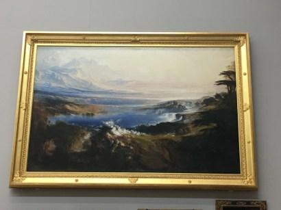 'The Plains of Heaven' by John Martin (1851-1853)