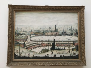 'The Pond' by LS Lowry (1950)