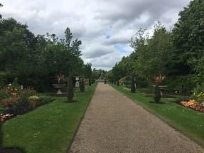 The way through Regent's Park