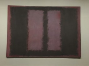 'Mark Rothko saw these paintings as objects of contemplation, demanding the viewer's complete absorption.'