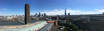 London's East Skyline (From the Tate)